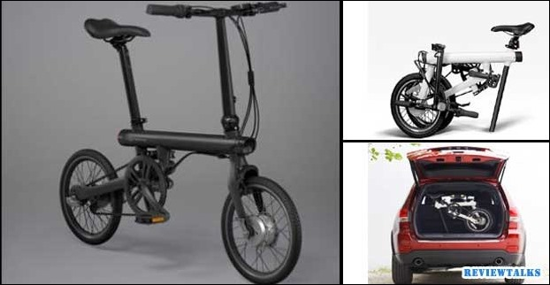 Electric bicycle 'Mi Qicycle' by Xiaomi