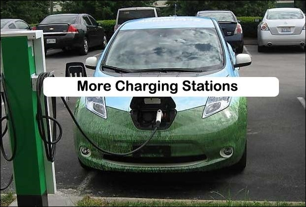 Goverment will open charging stations in India for electric cars
