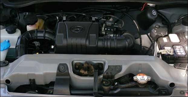 SOHC petrol engine in Hyundai Eon