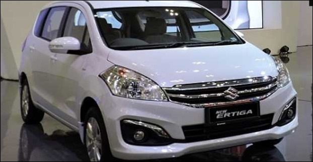 Ertiga is launched in 7 colours to choose from