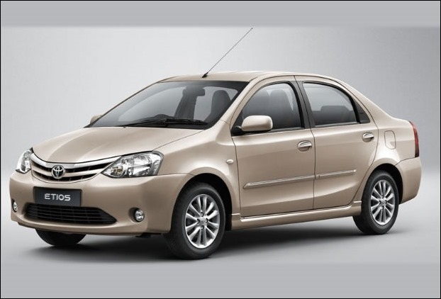 Toyota Etios has of boot space of 595 L