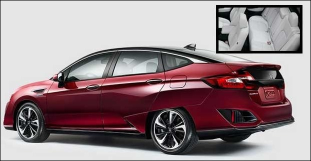 Hydrogen fuel-cell vehicle Honda FCX Clarity will deliver 589 KM mileage
