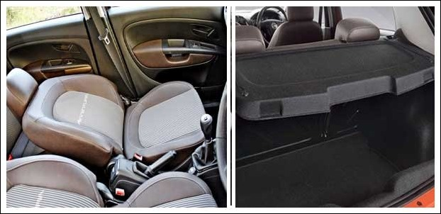 Fiat Avventura 2016 is a 5 seater compact crossover but leg space in rear seats is less