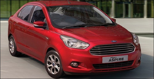 Ford Figo Aspire compact sedan price starts at Rs 4.9 lakh