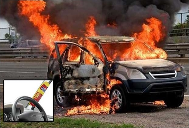 Fire extinguisher in your car add-on is important for your car's safety