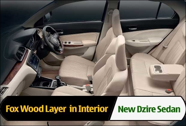 New Maruti Dzire has used Fox Wood Layer for the first time