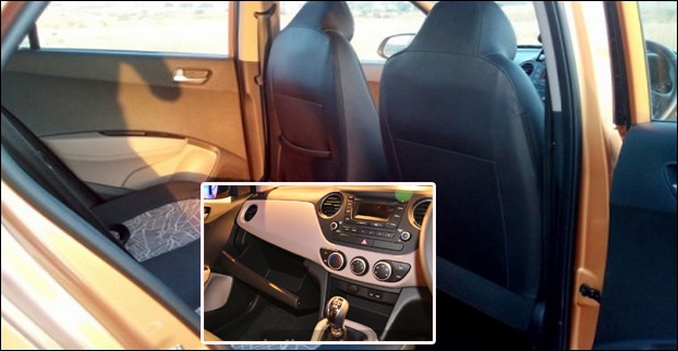 Hyundai Grand i10 is much more spacious with premium looking interiors