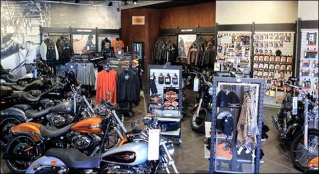 Harley Davidson also sells mechandise under its brand name