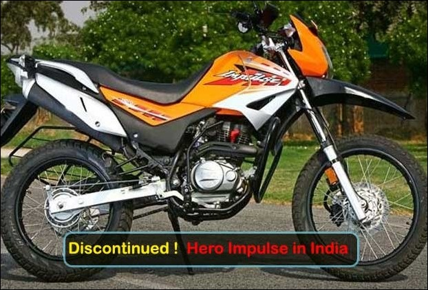 Hero Impulse Discontinued in India