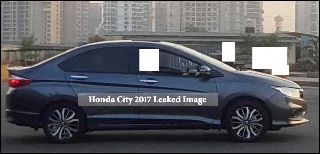 Upcoming Honda City 2017 Facelift Images Leaked Before Launch