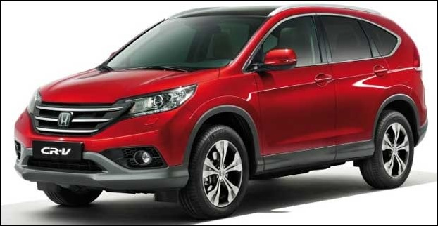 CRV has car has 170 mm of ground clearance and 2620 mm of wheelbase