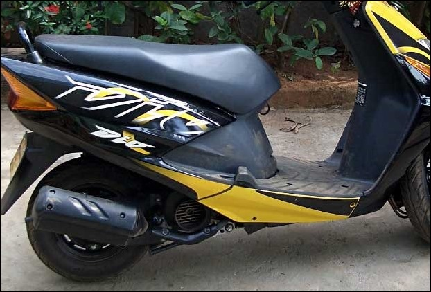 New body graphics in Honda Dio makes is popular in scooty lineup