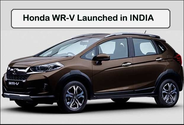 WR-V Crossover of Honda has 188 mm ground clearence