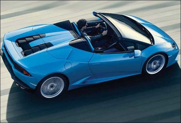 Lamborghini sports car with a jaw dropping price of 3.5 crores will become available in India from Feb 1