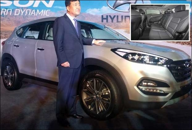 Hyundai Tucson will directly compete wil Mahindra XUV 500 in India