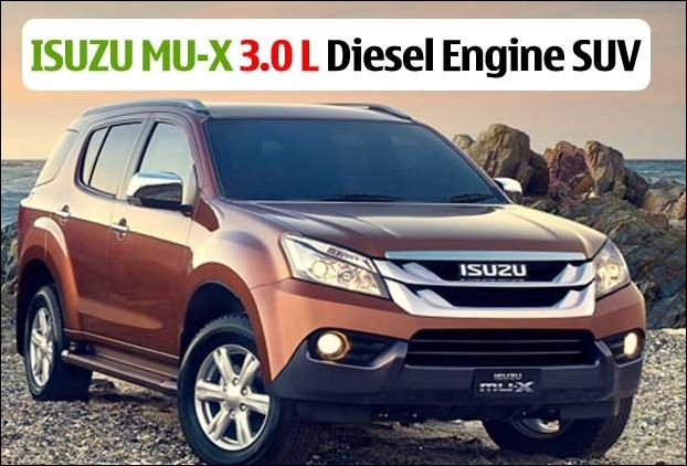Isuzu launches 'MU-X' SUV in India