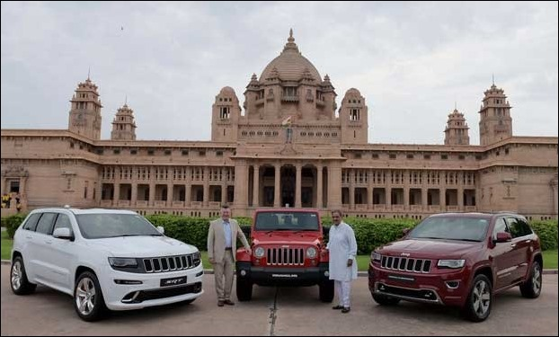 'Jeep' Wrangler and Cherokee launched in India