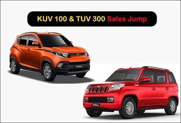 TUV 300 and KUV 100 Sales Cross 50,000 Units