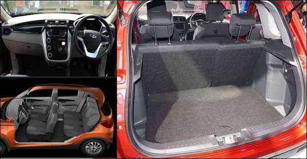 Mahindra KUV100 comes with 5-seats (2+3) and 6-seats (3+3) layout