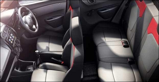 Renault Kwid can comfortably accommodate 5 passengers