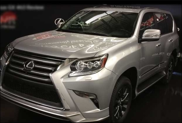 2017 lexus gx 460 review poor mpg but powerful luxury 7 seater. Black Bedroom Furniture Sets. Home Design Ideas