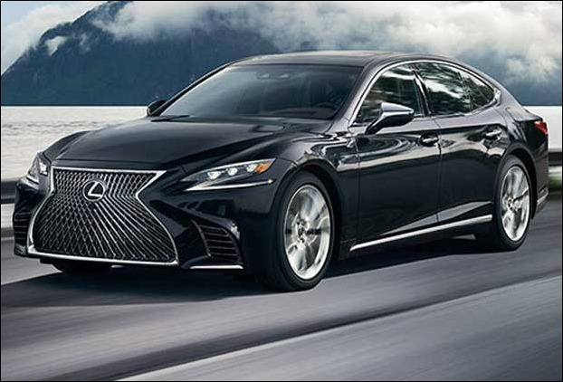 Lexus ls 2018 LS500h luxury sedan car launched in India