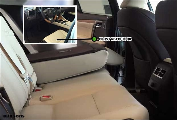 Interior is quite spacious with plenty of space for the rear passengers