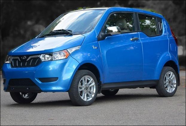 Mahindra e2o plus Electric Car