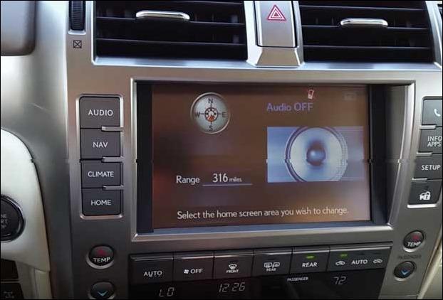 2017 Lexus GX 460 has got  17-speaker Mark Levinson surround sound audio system