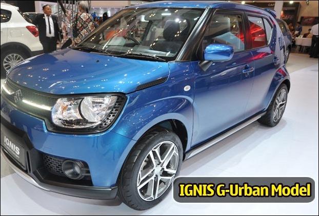 Suzuki's IGNIS G-Urban Off-road Concept Model