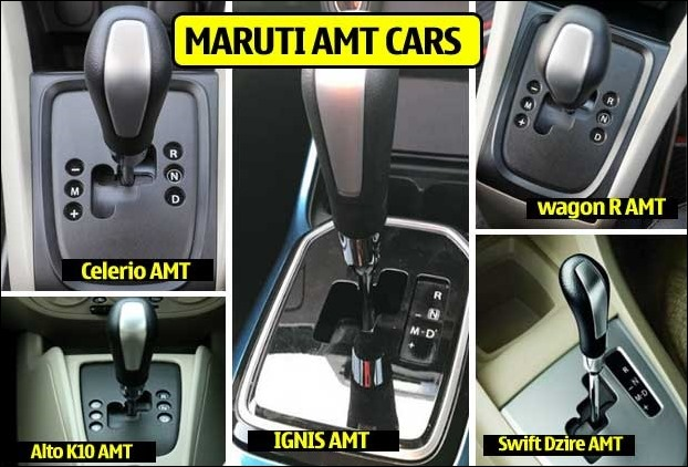 Maruti Employs AMT technology in 5 Car Models