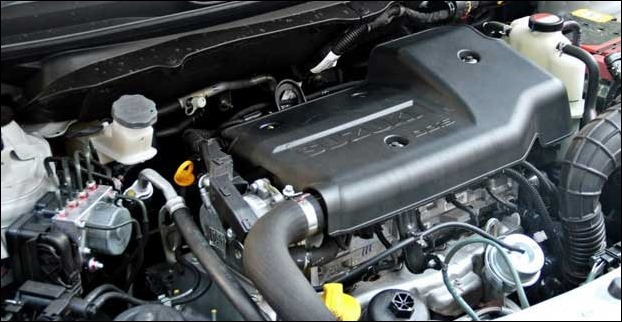 A  3-cylinder K- Series engine powers Celerio