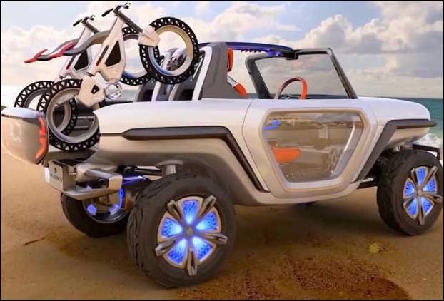 Maruti e-Survivor Electric SUV Car