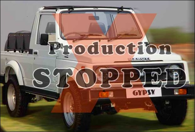 Maruti stops production of Gypsy in India