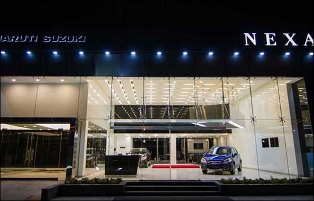 Maruti Ignis is offered through NEXA showrooms