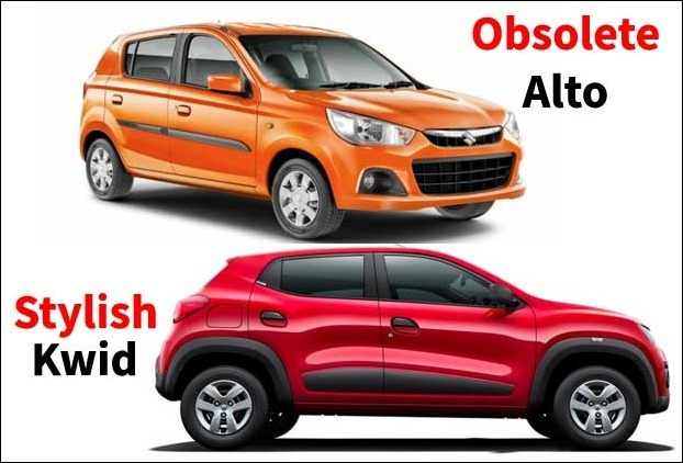 Maruti Will Introduce a new car model replacing Alto to take on the challeges of Kwid