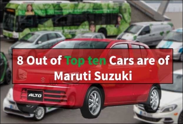 8 models are of Maruti out of 10 best-selling cars