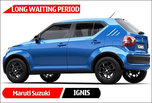 Maruti Suzuki has 5 months long waiting period