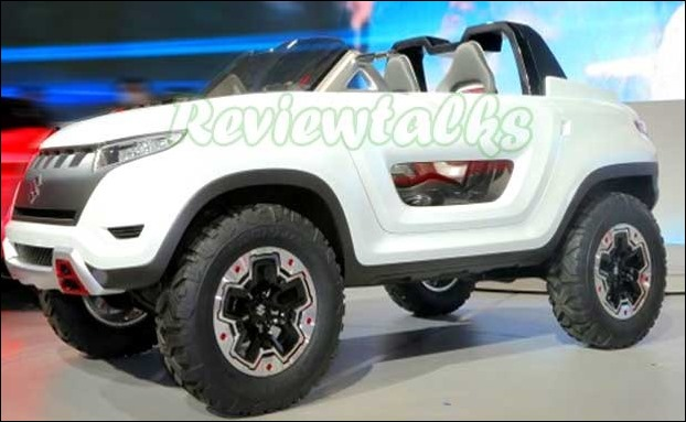 Maruti Up-Coming 2018 Model of Gypsy may be inspired from X-Lander Concept showcased by Suzuki