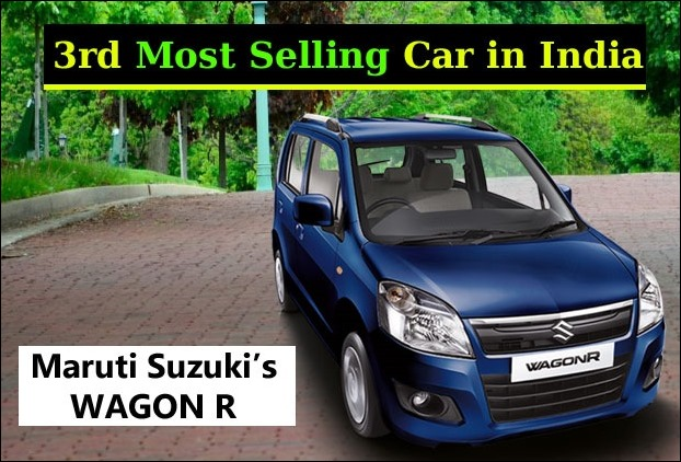 Wagon R #3 in Sales in India