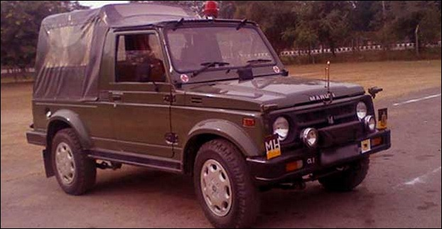 Maruti Gypsy still a favourite in Indian Army