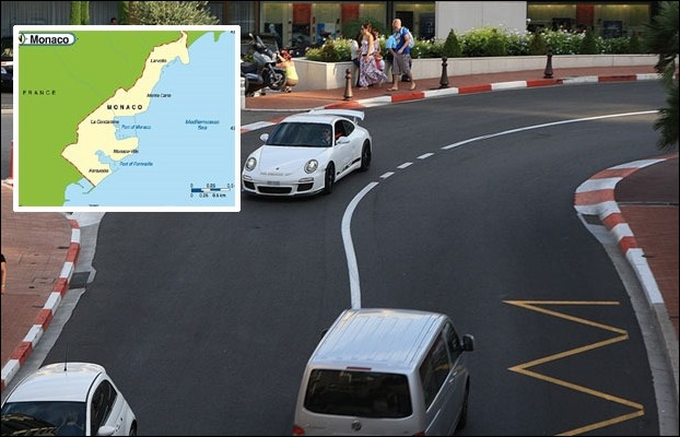There are 842 vehicles on every 1000 people in Monaco