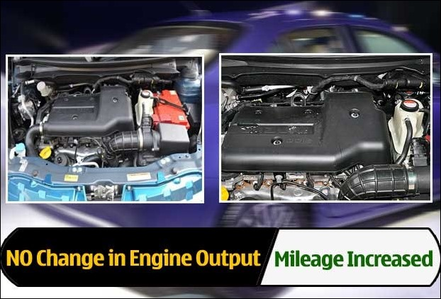 The new Dzire engines deliver increased mileage due to decrease in overall weight