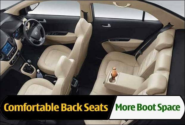 More Boot Space and Comfortable Back Seats in New Maruti Suzuki Dzire