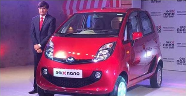 New Tata Nano GenX Model
