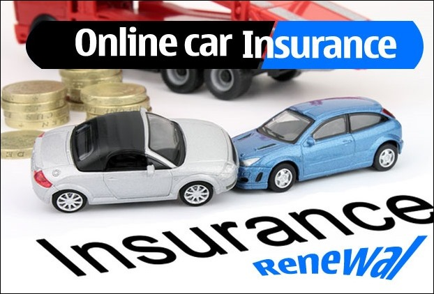 Renewal of Online Insurance for a  vehicle