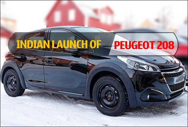 Sporty and Stylish Peugeot 208 Car with compact steering is coming to India