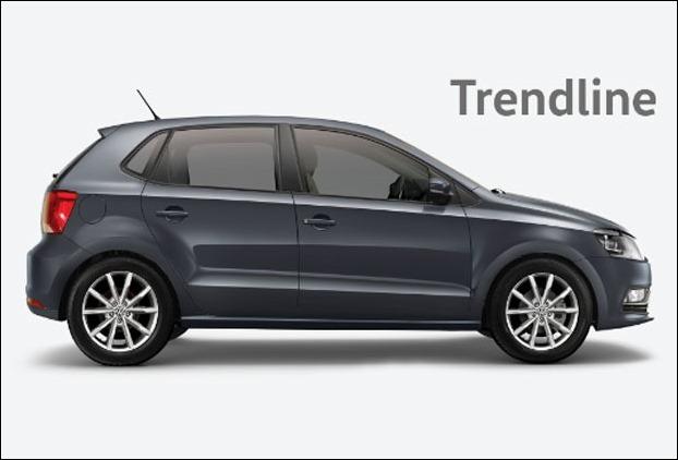 Volkswagen Polo Trendline 1.2L (P)  has 295L bootspace
