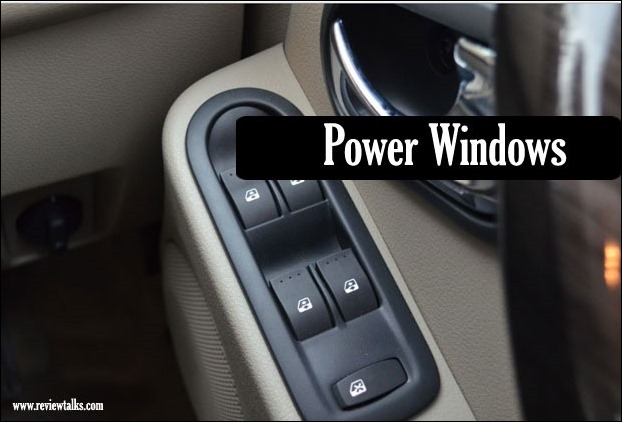 Power Windows for all four windows will ease your efforts to slide windows up and down