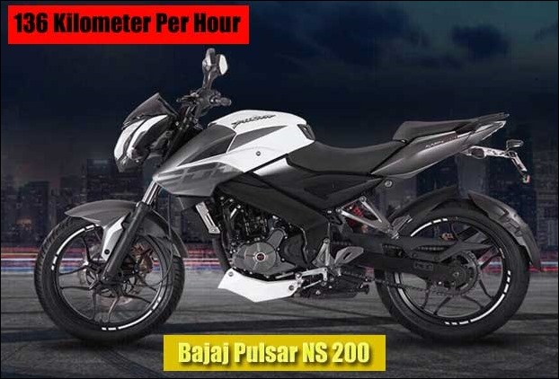 136 kmph top speed Bajaj Pulsar NS 200  new model launched with 199 cc engine